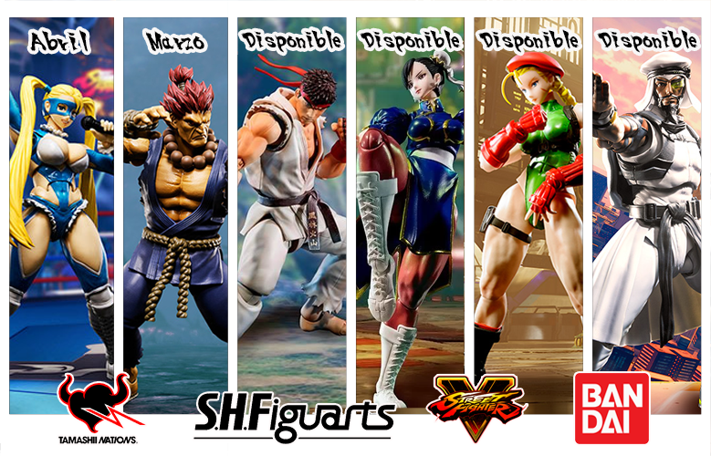 Bandai SH Figuarts Street Fighter