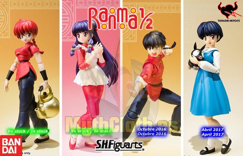 Bandai - Ranma 1/2 SH Figuarts