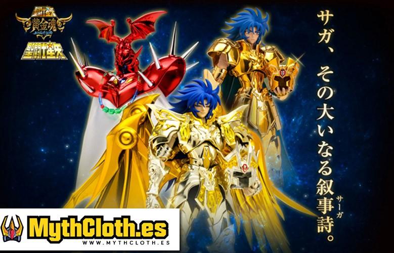 Myth Cloth EX Saga de Geminis Soul of Gold