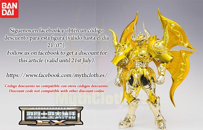 BANDAI. Myth Cloth EX Tauro Soul of Gold