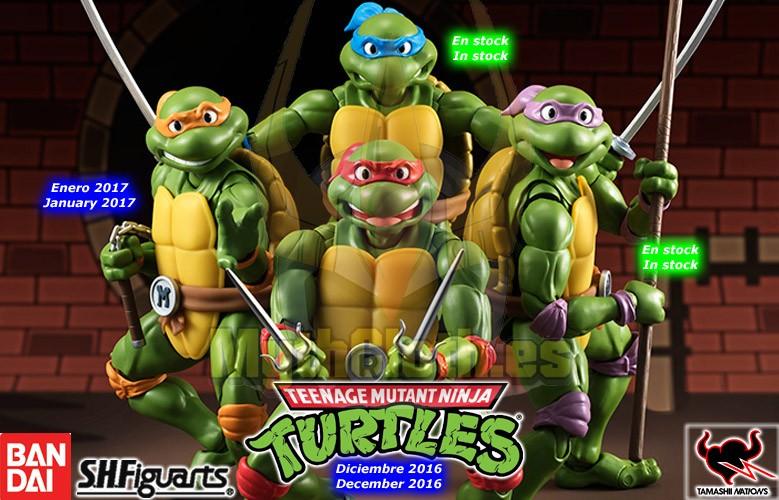Tortugas Ninja - Bandai SH Figuarts